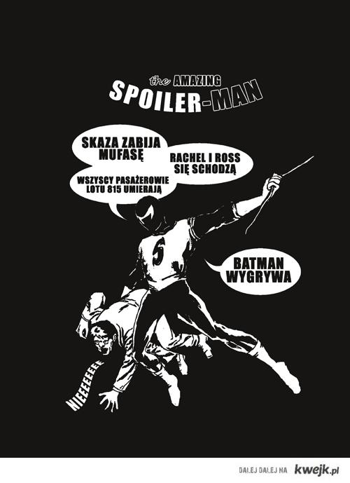 The Amazinf Spoiler-man
