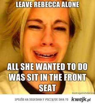 leave rebbeca alone
