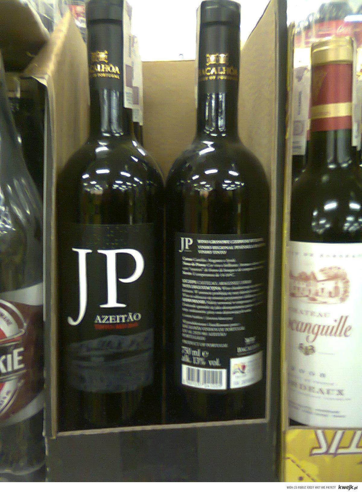 Wino JP (bierdonka)