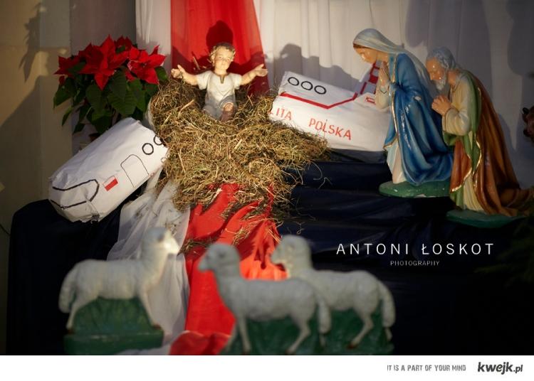 Smoleńsk Szopka Boże Narodzenie Tragedia