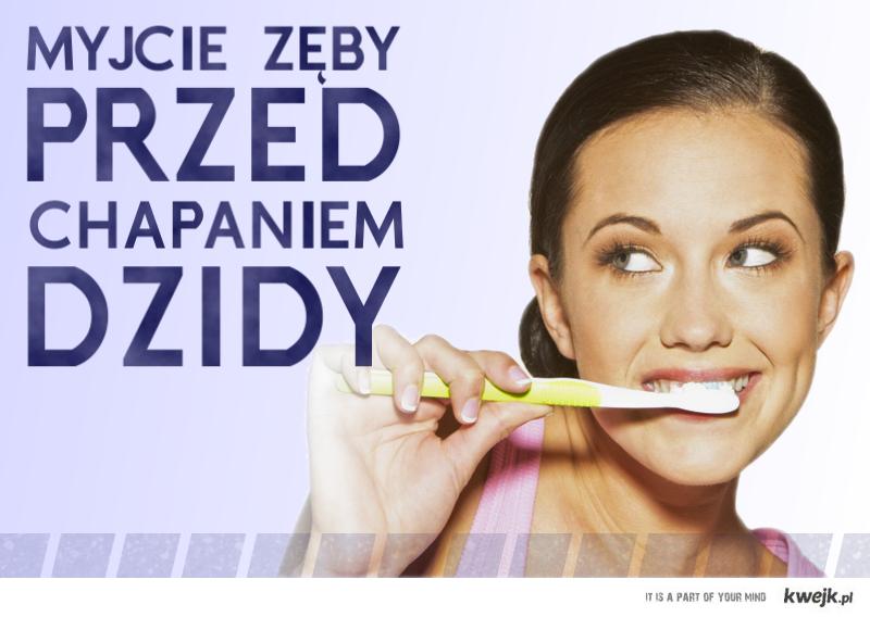 Myjcie zęby