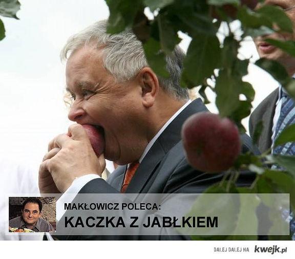 kaczka z jabłkiem!