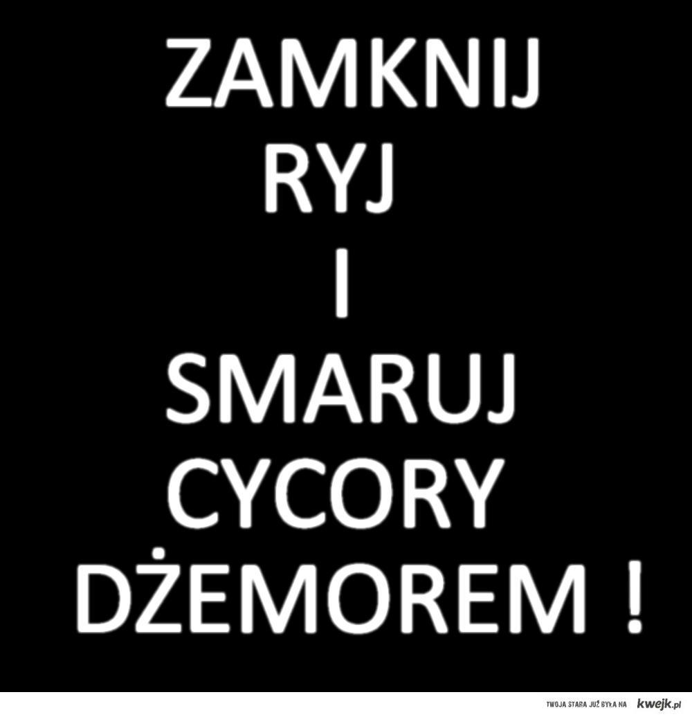 CYCORY DŻEMOREM !