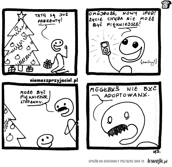 czarny humor - adopcja