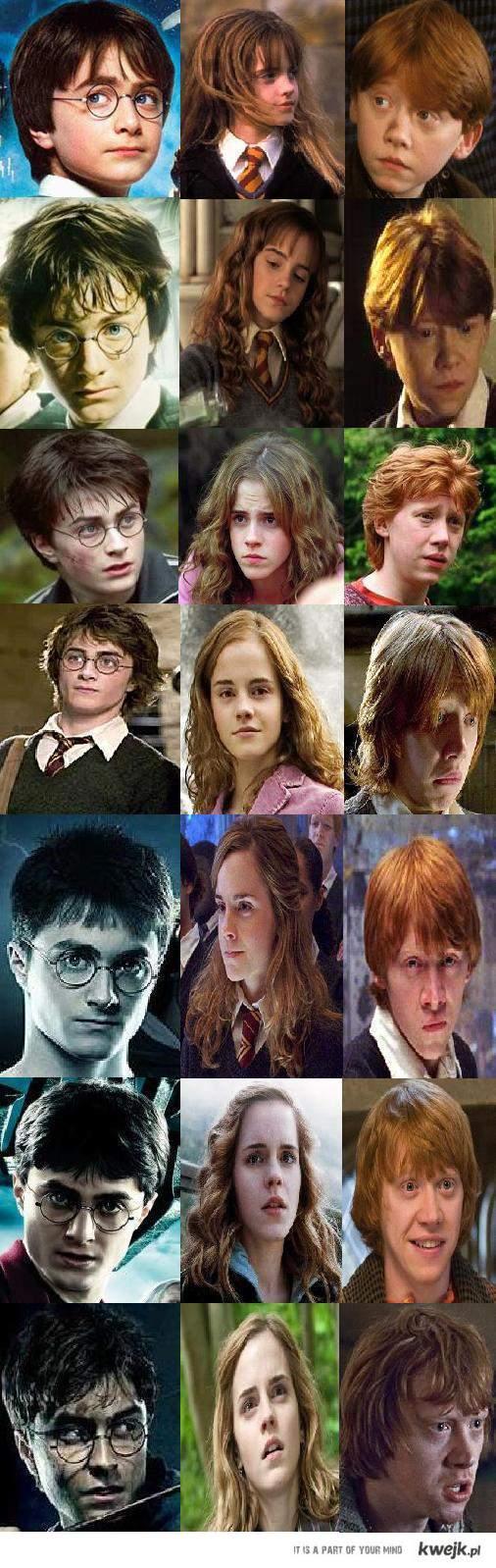 Harry, Ron i Hermiona