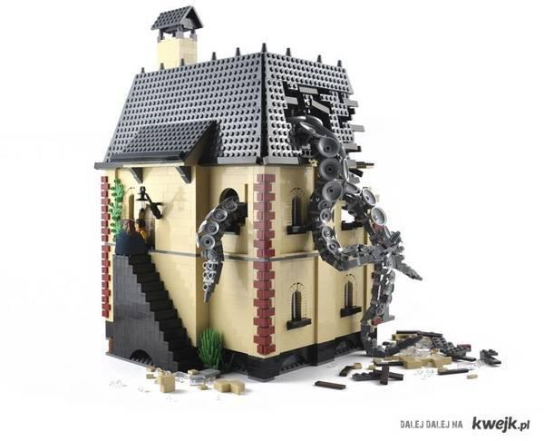 Dom Cthulhu z klocków lego