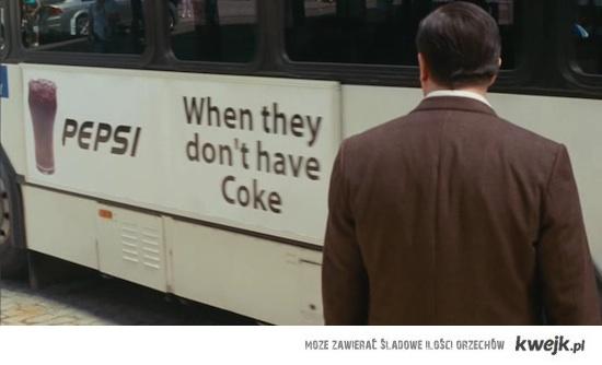 Pepsi - gdy nie ma coli