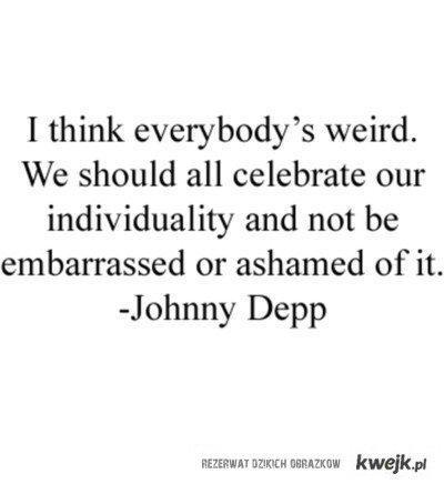 Johnny Depp said
