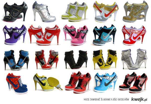 Nike - nie wazne jakie ale są