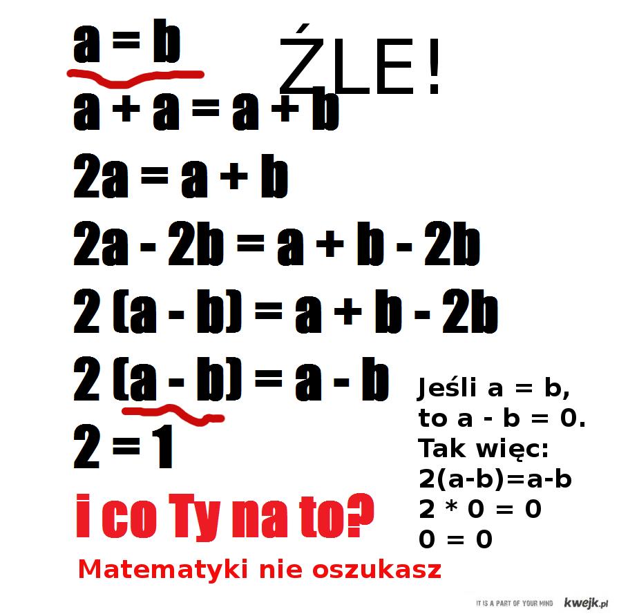 Z matematyka nie wygrasz