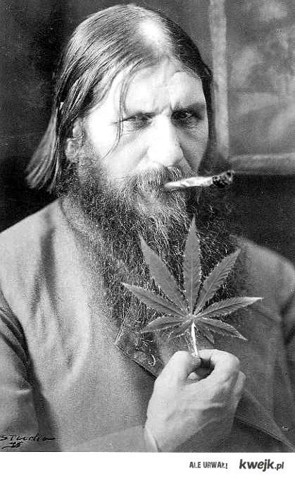 Rasputin zwolennik zielonki