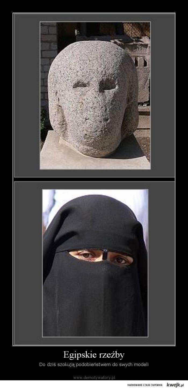 egipskie rzezby