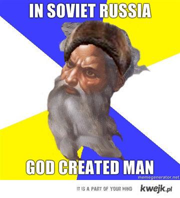 W sowieckiej Rosji..