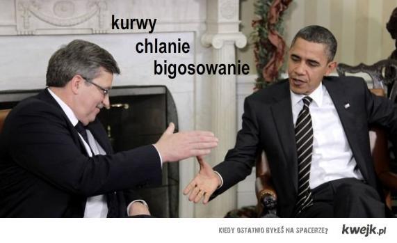 Bigosowanie prezydenta