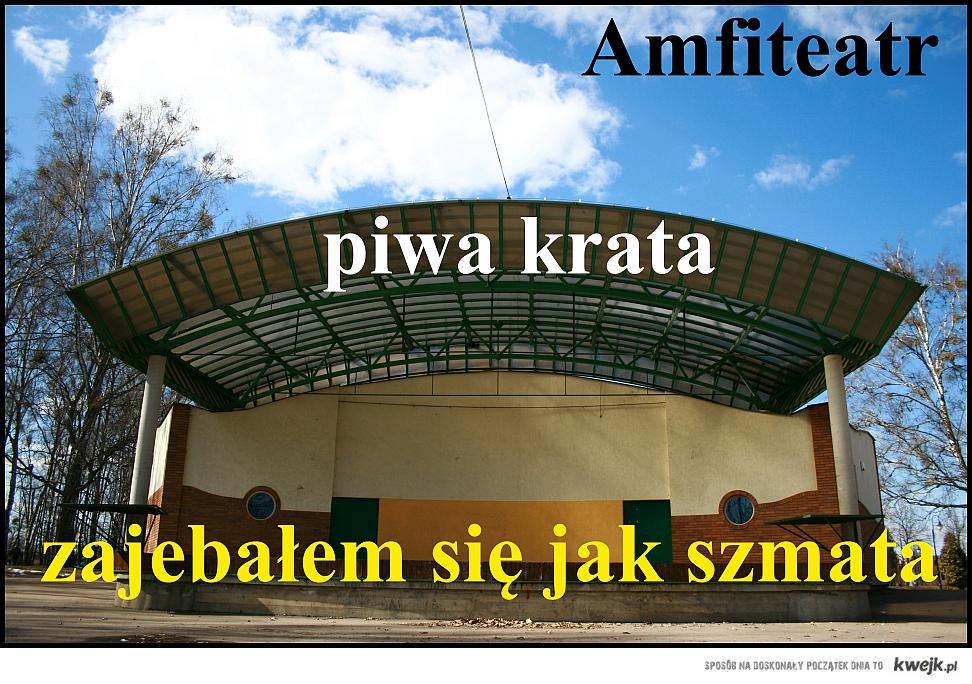 amfiteatr, hajnówka