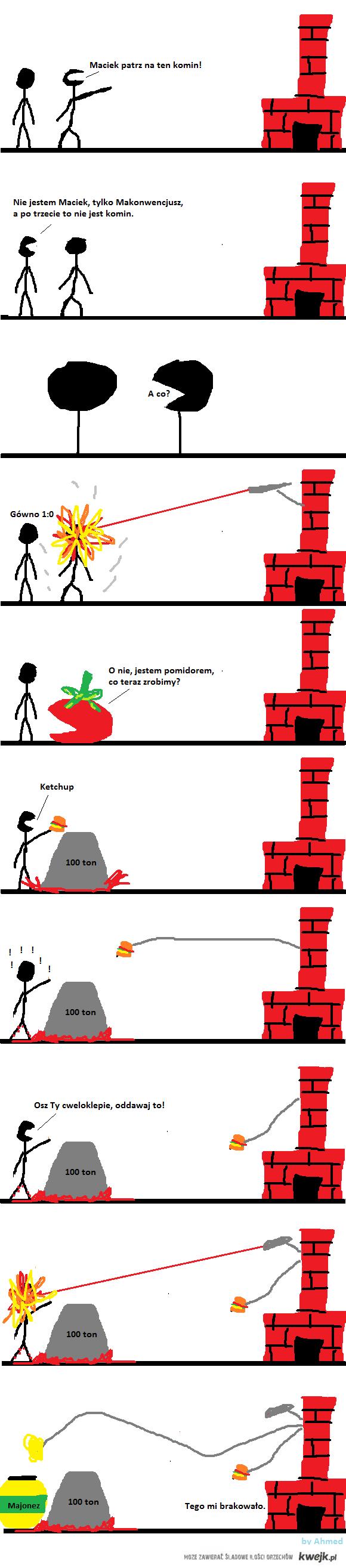 Komin - historia prawdziwa