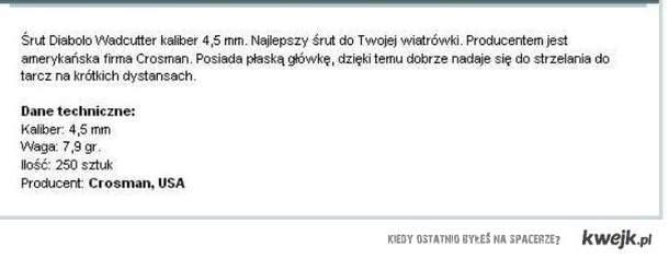 Śrut firmy Natanek XD