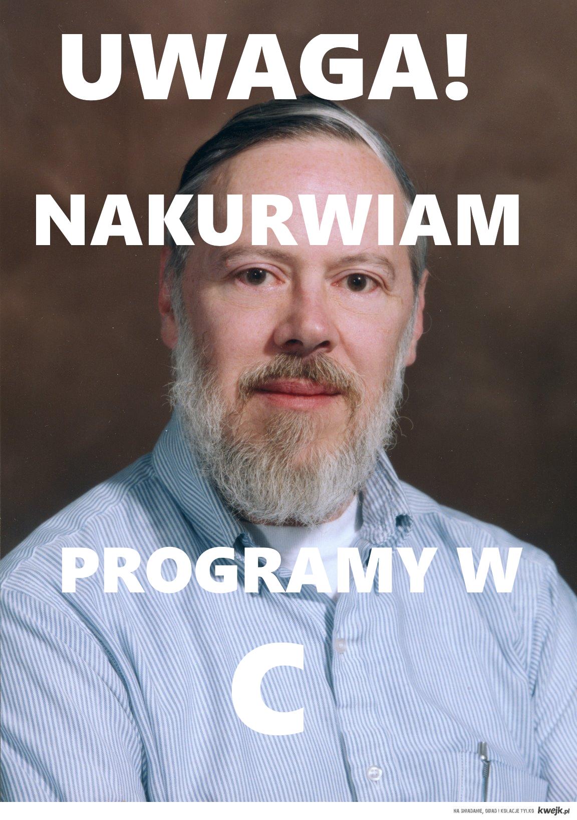 NAKURWIAM W PROGRAMY W C