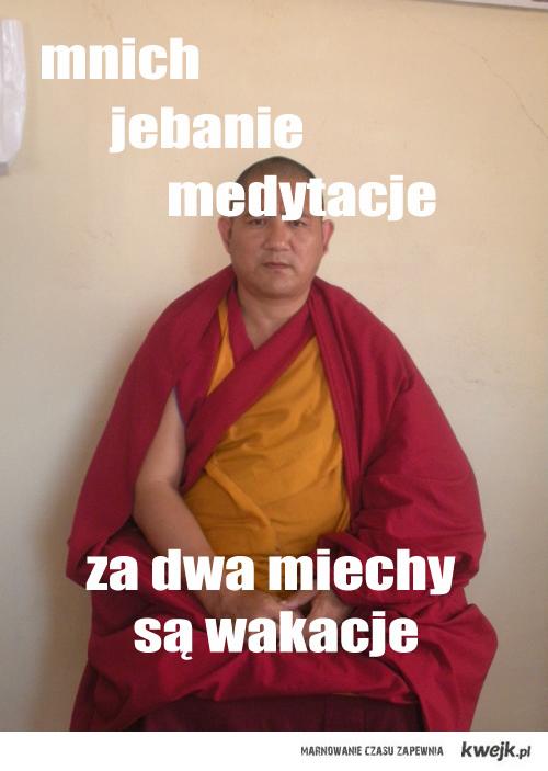 mnich-medytacje