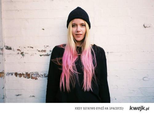 blonde&pink