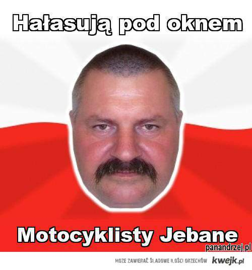 Motocyklisty