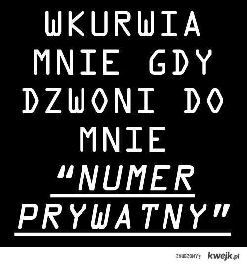 Numer prywatny