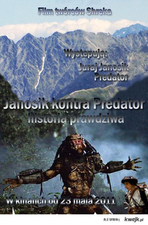 Nowy film o Janosiku i Predatorze