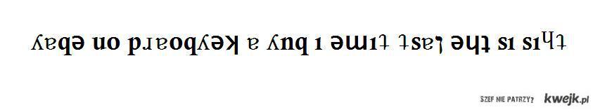 ʎɐqǝ uo pɹɐoqʎǝʞ ɐ ʎnq ı ǝɯıʇ ʇsɐן ǝɥʇ sı sıɥʇ