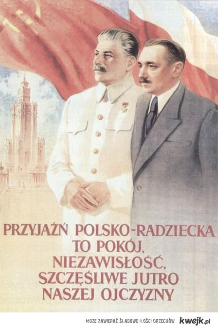 Przyjaźń Polsko - radziecka :)