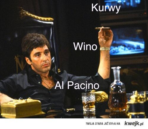 Kurwy, Wino...
