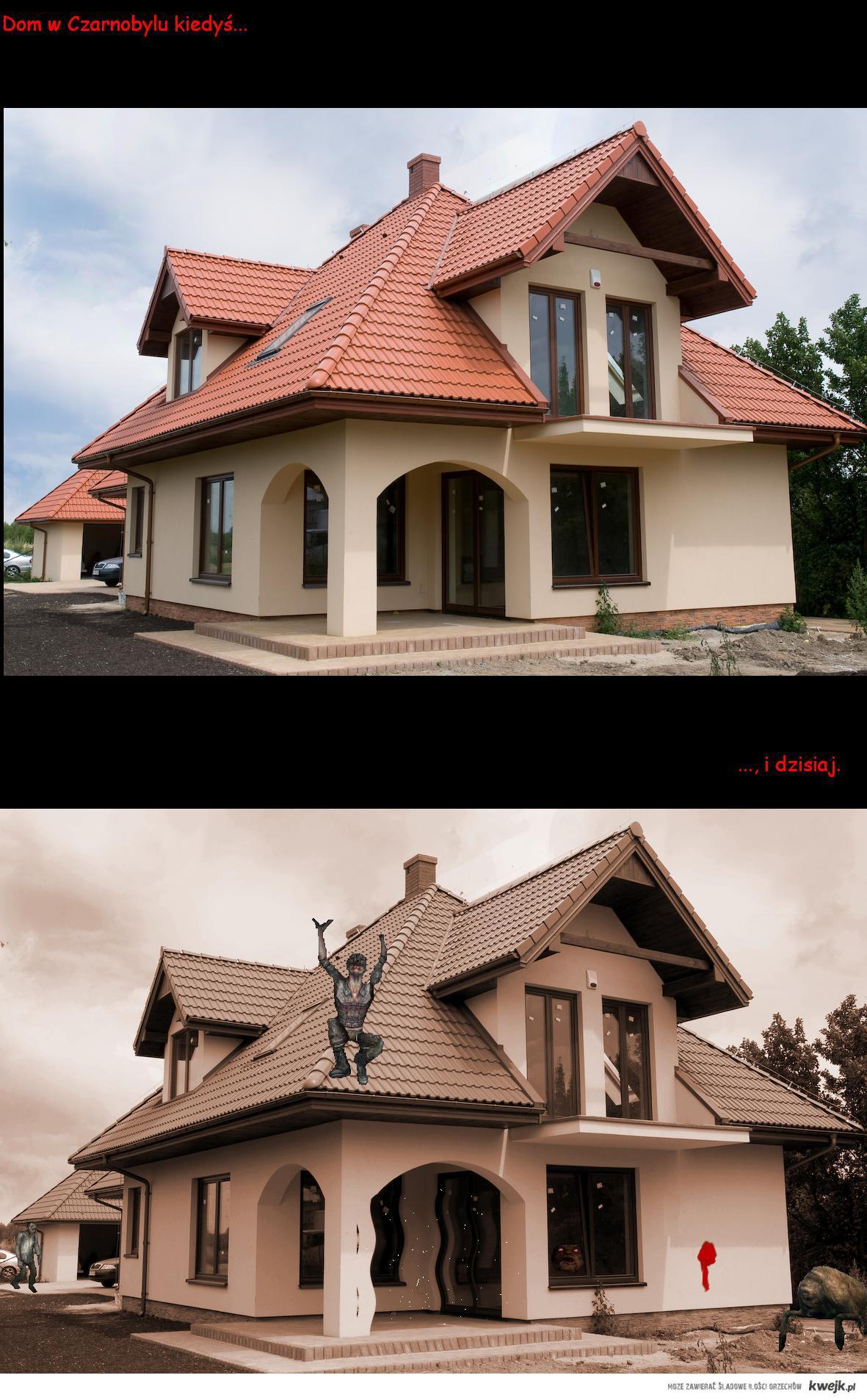 Dom w Czarnobylu