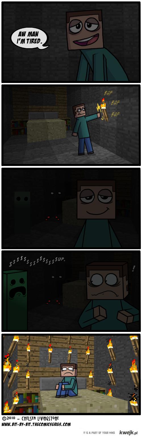 Minevraft - creeper