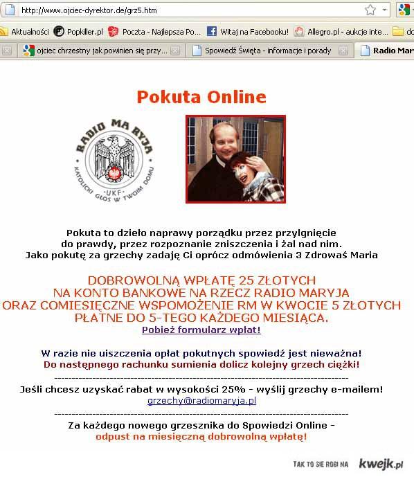 Spowiedź on-line