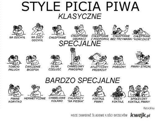 Style picia piwa :)