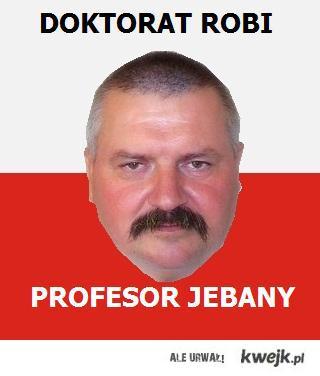 profesor pierdolony
