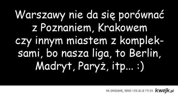 Warszawa nieporównywalna