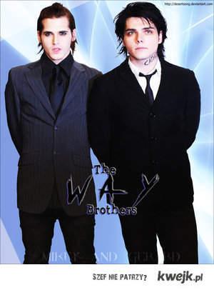 Gerard&Mikey Way