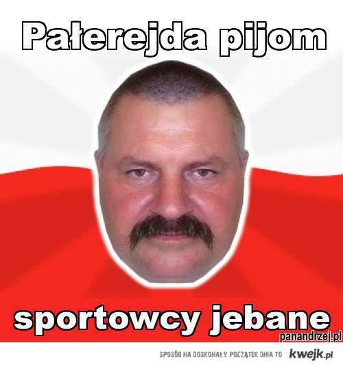 Sportowcy :D