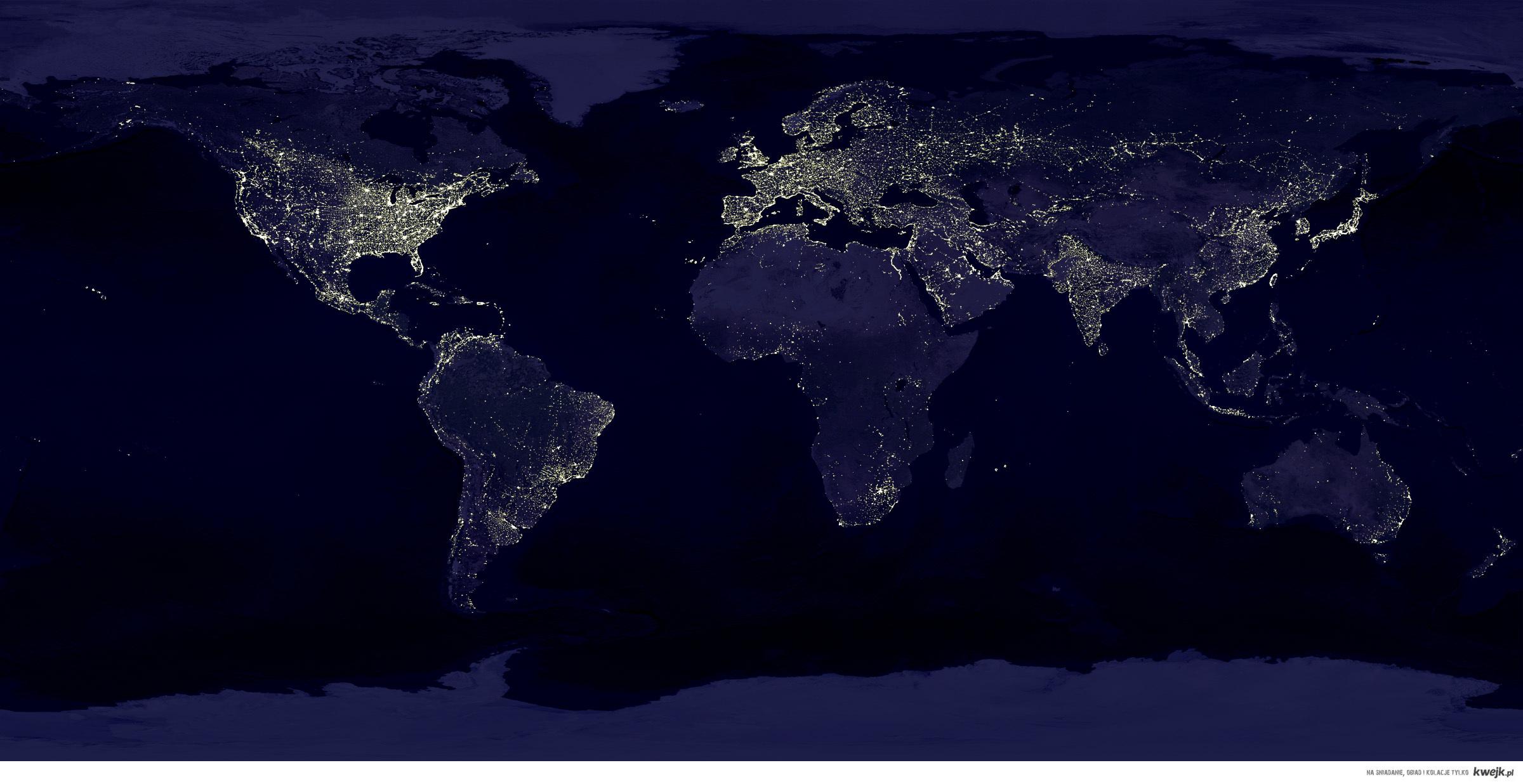 nocny świat
