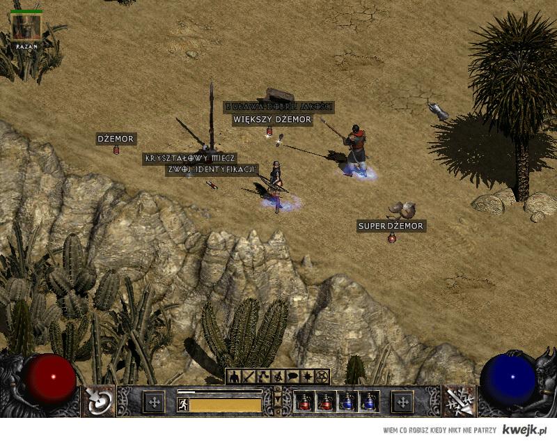 Diablo II mikstury