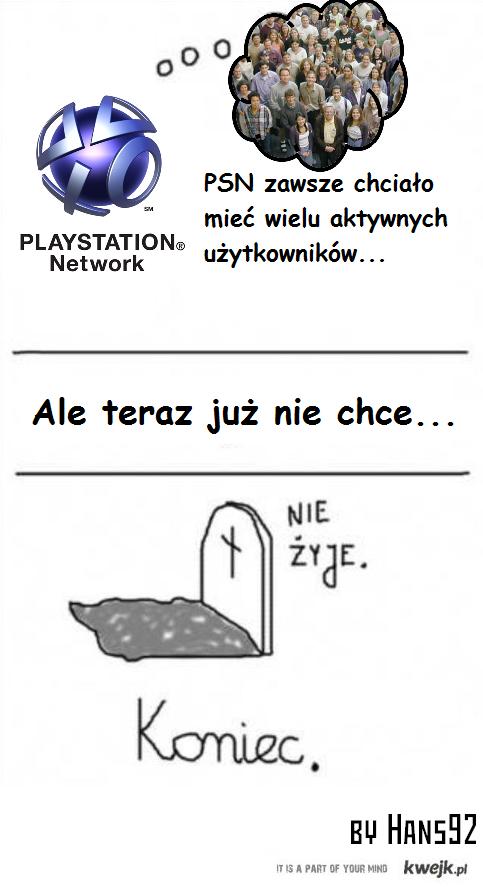 PSN nie żyje