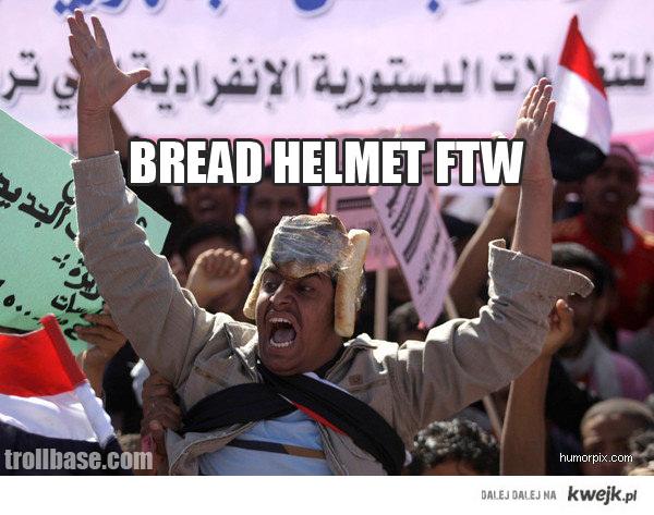 Bread Helmet FTW