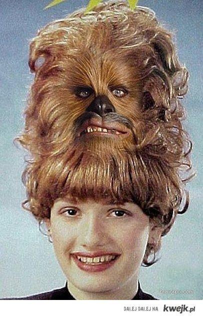 Chewbacca hairstyle