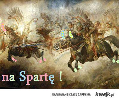 Kieruj na Spartę !