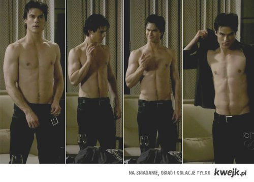 Sexy Damon Salvatore ;D