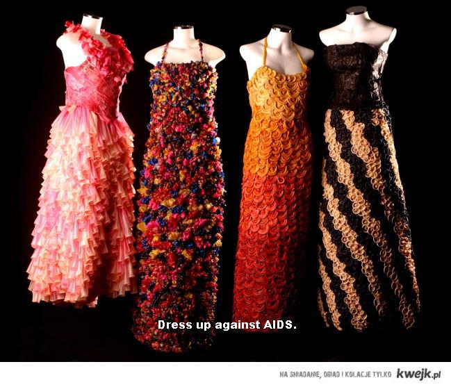 Dress up against AIDS.