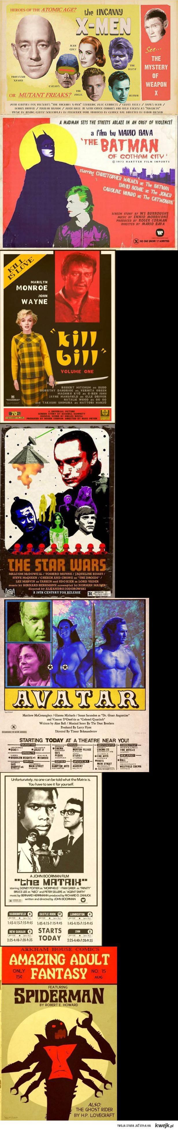 Nowe filmy stare wydanie