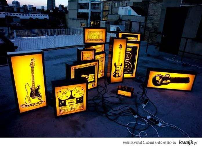 instrumenty podświetlone