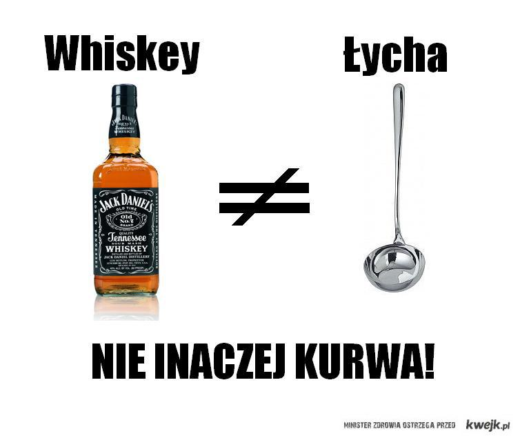 Whiskey a łycha