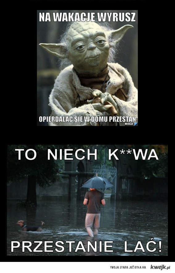 Ty sie Yoda nie wymądrzaj...